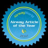 AirwayWorld Airway Article of the Year 2012