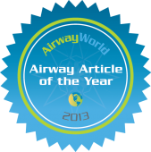 AirwayWorld Airway Article of the Year 2013