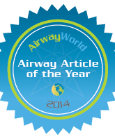 2014 Airway Article of the Year Seal