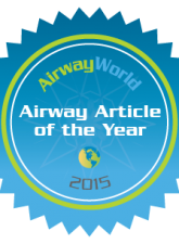 AirwayWorld Airway Article of the Year 2015